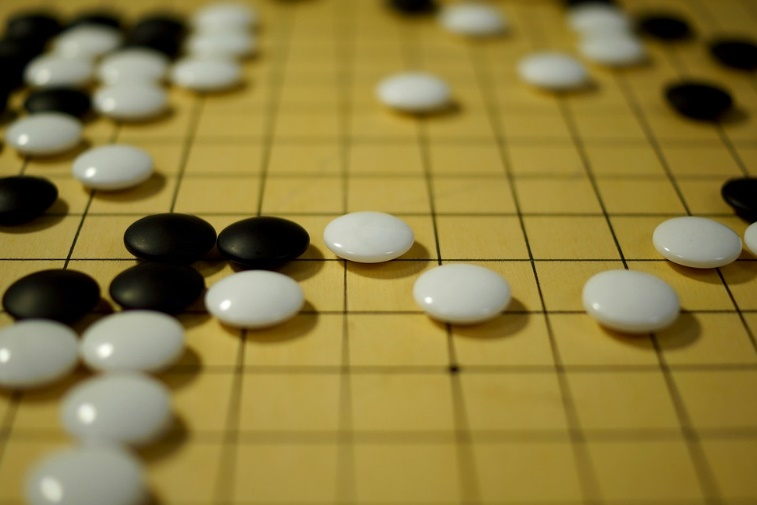 Figure 3: The game of Go.