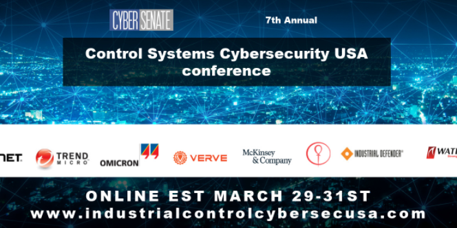 7th Annual Control System Cybersecurity USA 2021 Conference